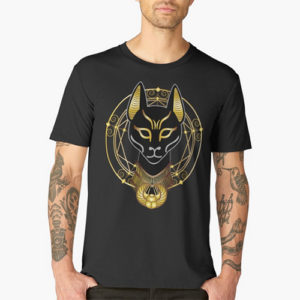 Golden Bastet t-shirts