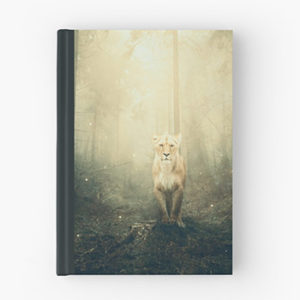 lioness- hardcover journal