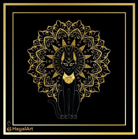 Bastet the goddess