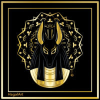 Anubis, the protector of the afterlife