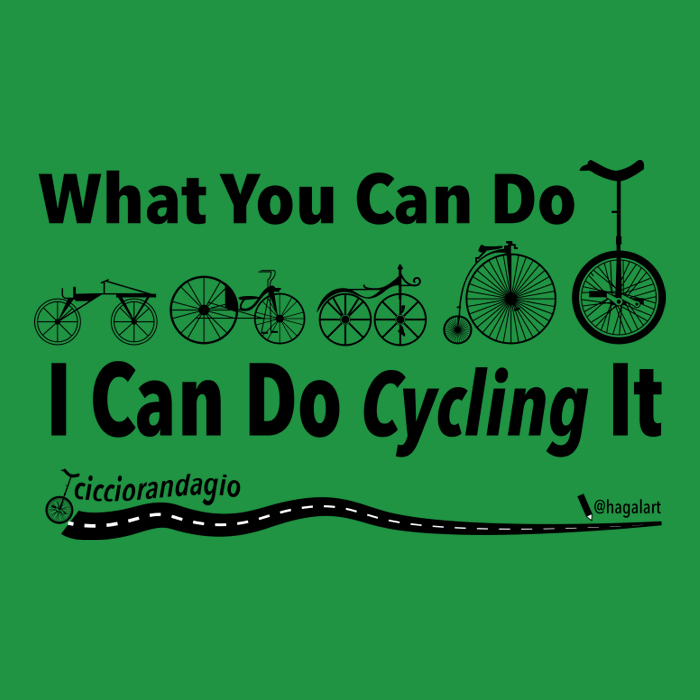 What you can do I can do cycling it