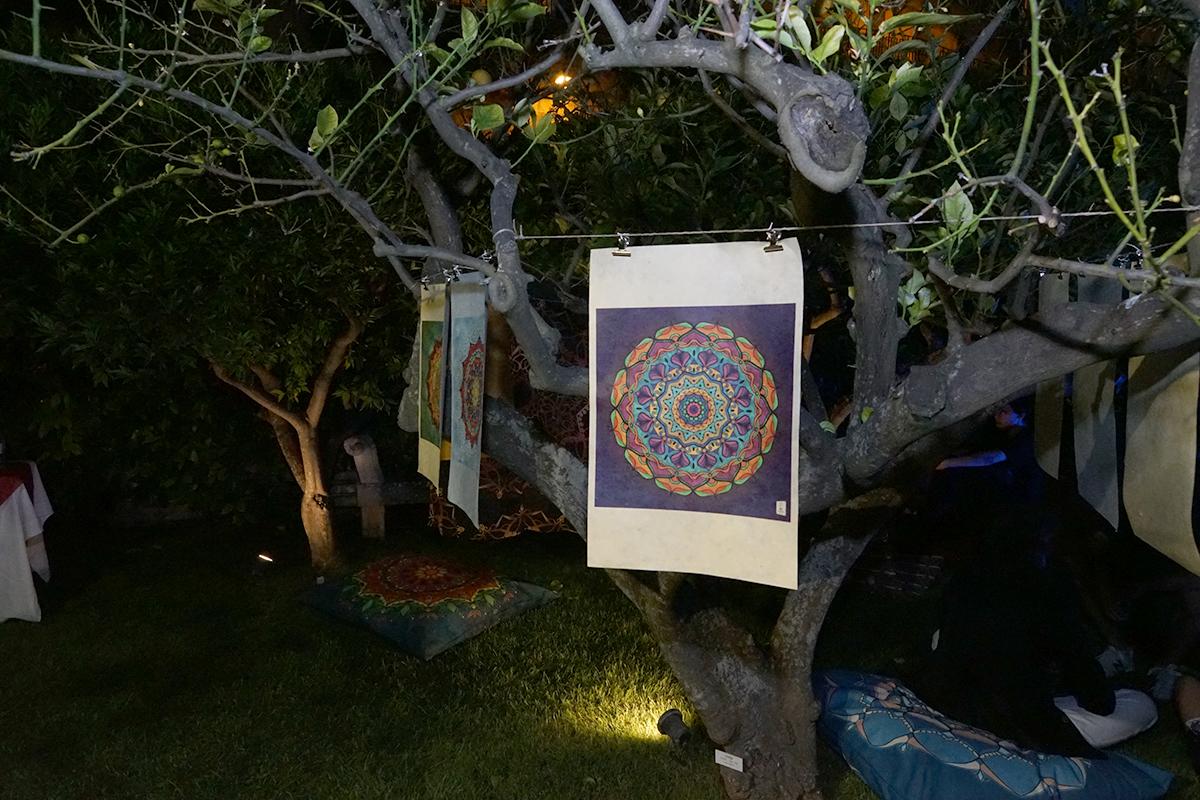 mostra di mandala di giada zammitti