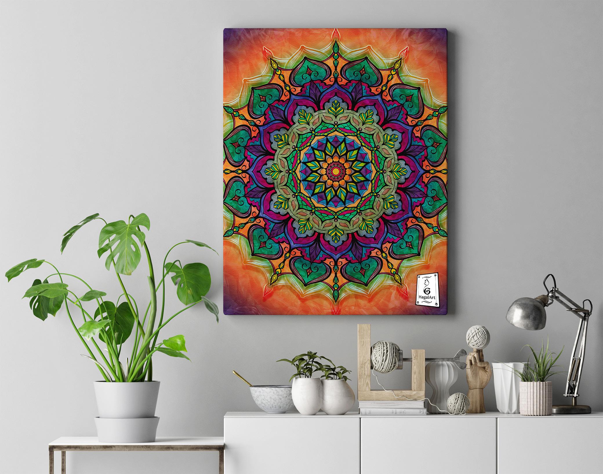 Mandala - COVID-3.50x50cm
