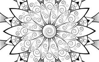 Free mandala to color - hagalart