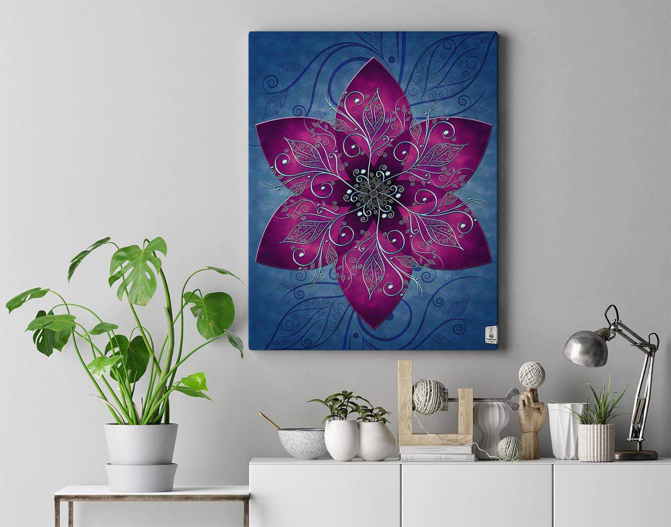 Mandala MELANCHOLY.40x50cm