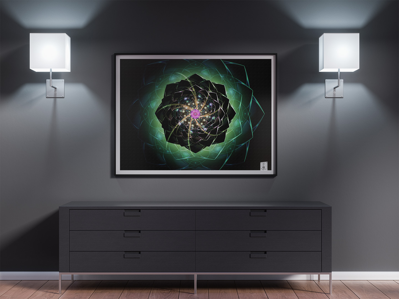 Mandala UNIVERSAL MIND.40x50cm