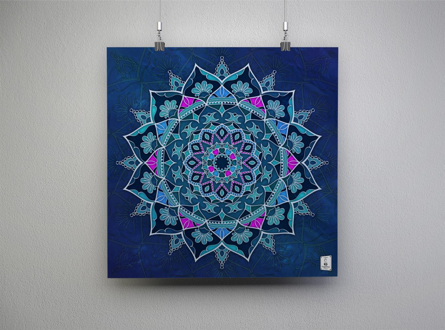 Mandala NOSTALGIA.40x40cm