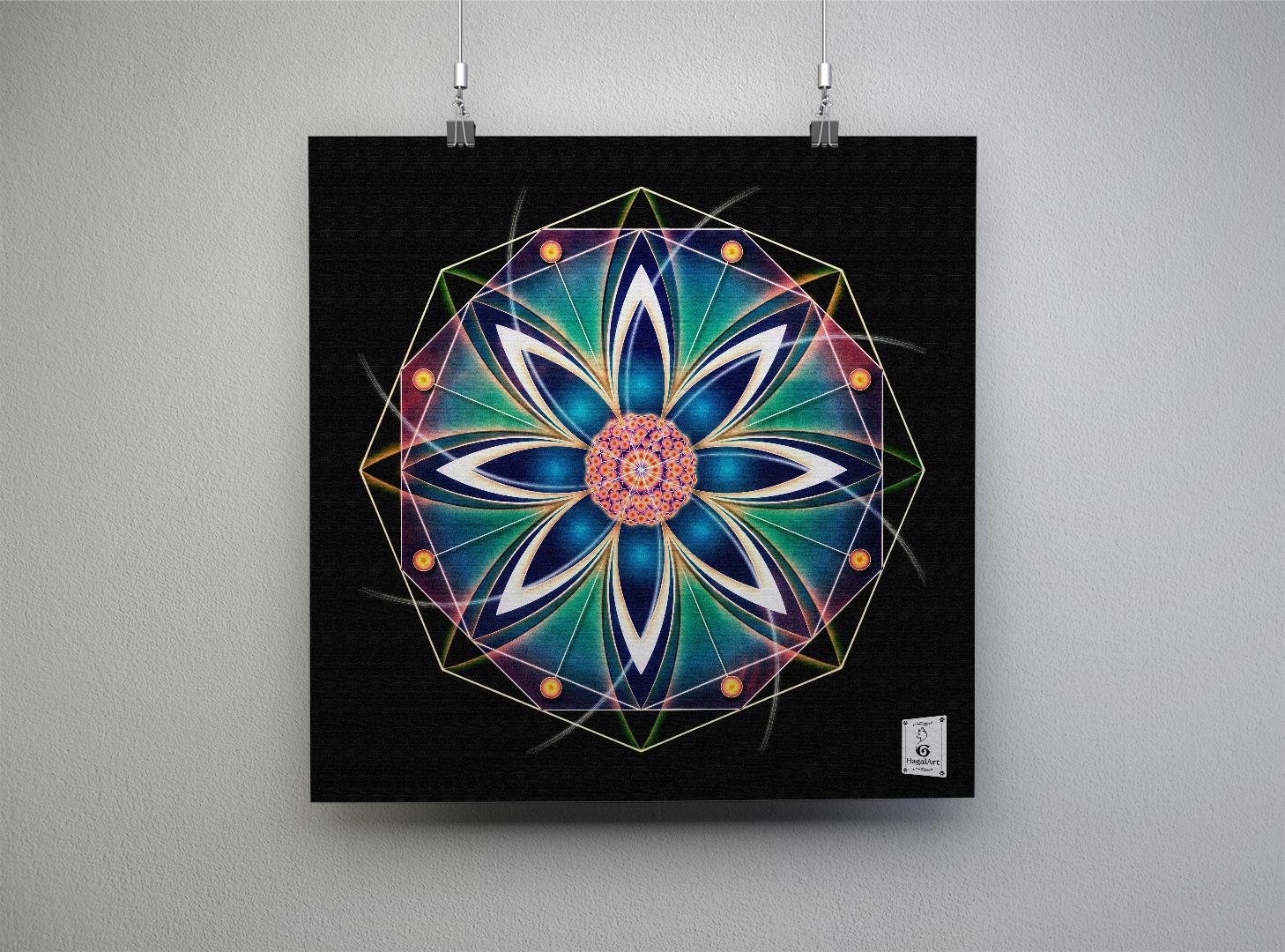 Mandala STRENGHT.30x30cm
