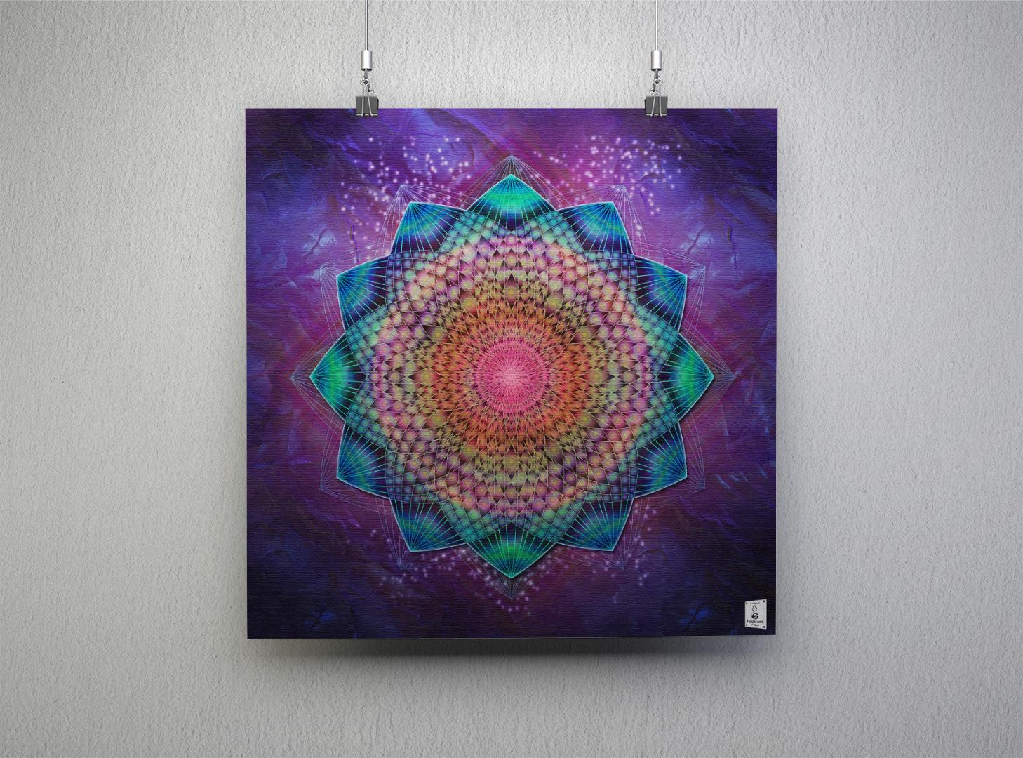 Mandala UNIVERSE.40x40cm