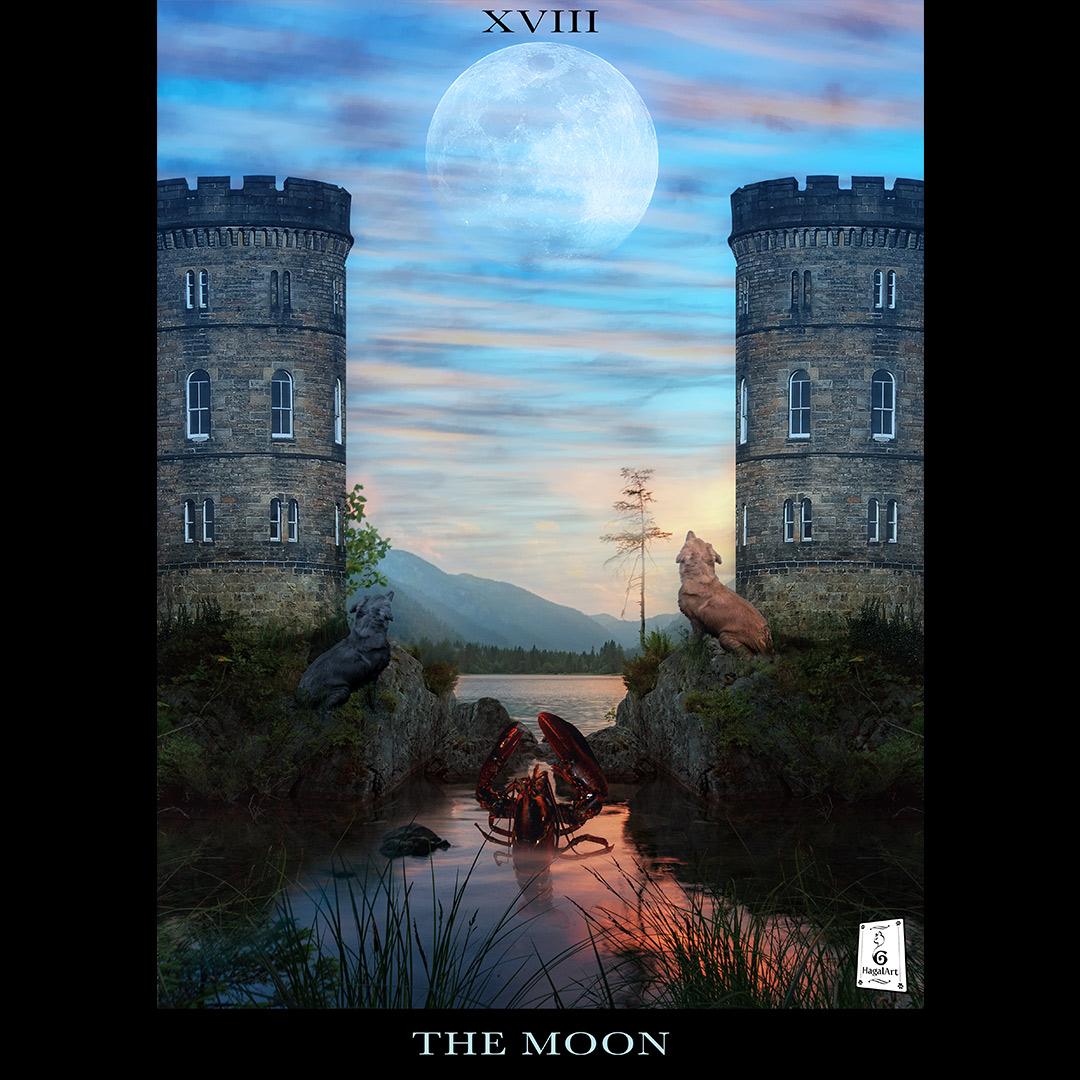 The moon-hagalart